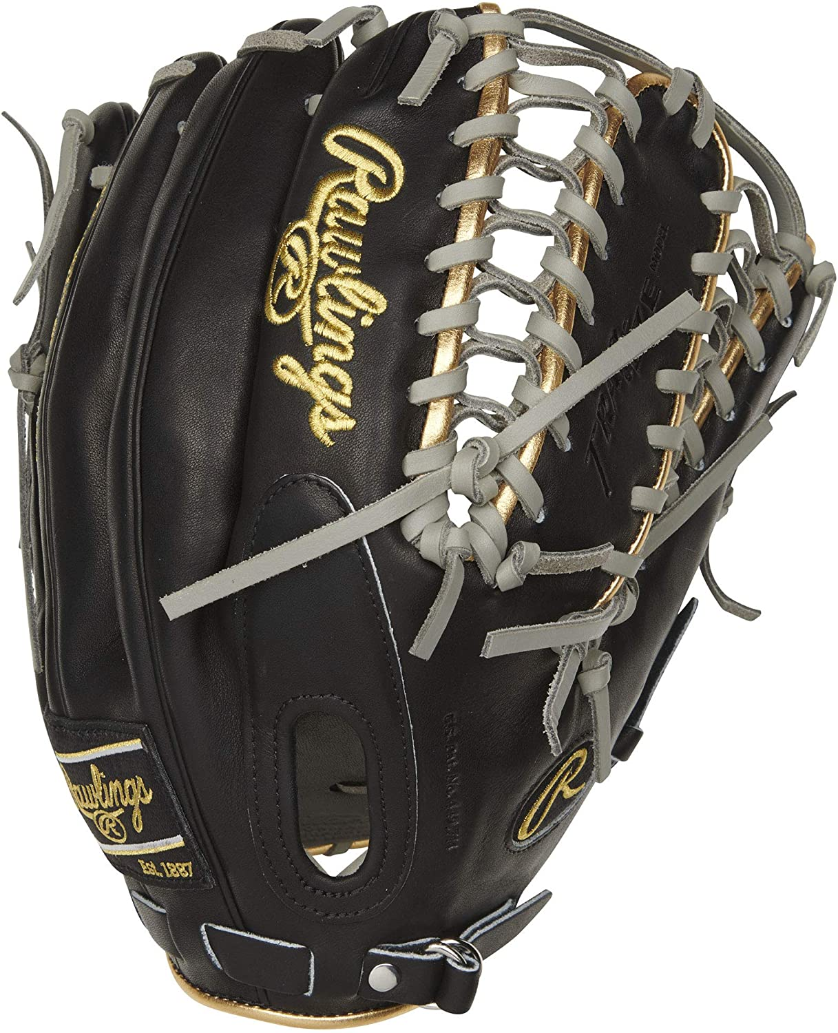 rawlings-pro-preferred-12-75-baseball-glove-mike-trout-right-hand-throw PROSMT27B-RightHandThrow Rawlings 083321699856 Crafted from flawless kip leather the Rawlings 2021 Pro Preferred 12.75-inch