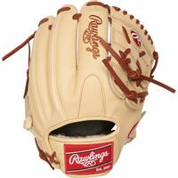 The 11.75-inch Rawlings Pro Preferred infield/pitcher's glove is the pinnacle of performance. You get it all wtih this glove: luxurious, full-grain Kip leather, a pro infield pattern, 100% wool padded to maintain your pocket and a versatile 2-piece solid web. In addition, these gloves are handcrafted and individually numbered by the best craftsmen in the world. To add comfort to this performance glove, a Pittards sheepskin palm lining has been used in addition to a 100% wool wrist liner and padded thumb sleeve. All of this comes in a pristine camel color for an ultra-clean, pro look. Once you put this Pro Preferred on, it will quickly become your gamer for a long time to come.