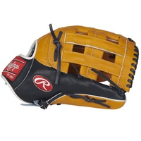 This H-web 12.75 inch Rawlings Pro Preferred glove is ideal for the serious outfielder. Handcrafted from flawless Kip leather and individually numbered, this glove is everything you'd expect from a Rawlings pro game day model. This glove features our popular 303 pro outfield pattern and uses 100% wool padding, the finest materials available for forming the perfect pocket. Additionally, this Pro Preferred glove features Pittards sheepskin lining, a 100% wool wrist strap and padded thumb sleeve for the ultimate in comfort and control. The rich tan and navy color combination along with the trusted H-web are the perfect finishing touches for this pro model. Once this glove is on your hand you'll know why more pro players wear Rawlings than any other brand. ul li class=attributespan class=labelThrowing Hand: /span span class=value Right /span/li li class=attributespan class=labelSport: /span span class=value Baseball /span/li li class=attributespan class=labelBack: /span span class=value Conventional /span/li li class=attributespan class=labelPlayer Break-In: /span span class=value 70 /span/li li class=attributespan class=labelFit: /span span class=value Standard /span/li li class=attributespan class=labelLevel: /span span class=value Adult /span/li li class=attributespan class=labelLining: /span span class=value Pittards Sheep Skin /span/li li class=attributespan class=labelPadding: /span span class=value 100% Wool Blend /span/li li class=attributespan class=labelSeries: /span span class=value Pro Preferred /span/li li class=attributespan class=labelShell: /span span class=value Kip Leather /span/li li class=attributespan class=labelWeb: /span span class=value Pro H /span/li li class=attributespan class=labelSize: /span span class=value 12.75 in /span/li li class=attributespan class=labelPattern: /span span class=value 303 /span/li li class=attributespan class=labelAge Group: /span span class=value Pro/College, High School, 14U /span/li /ul