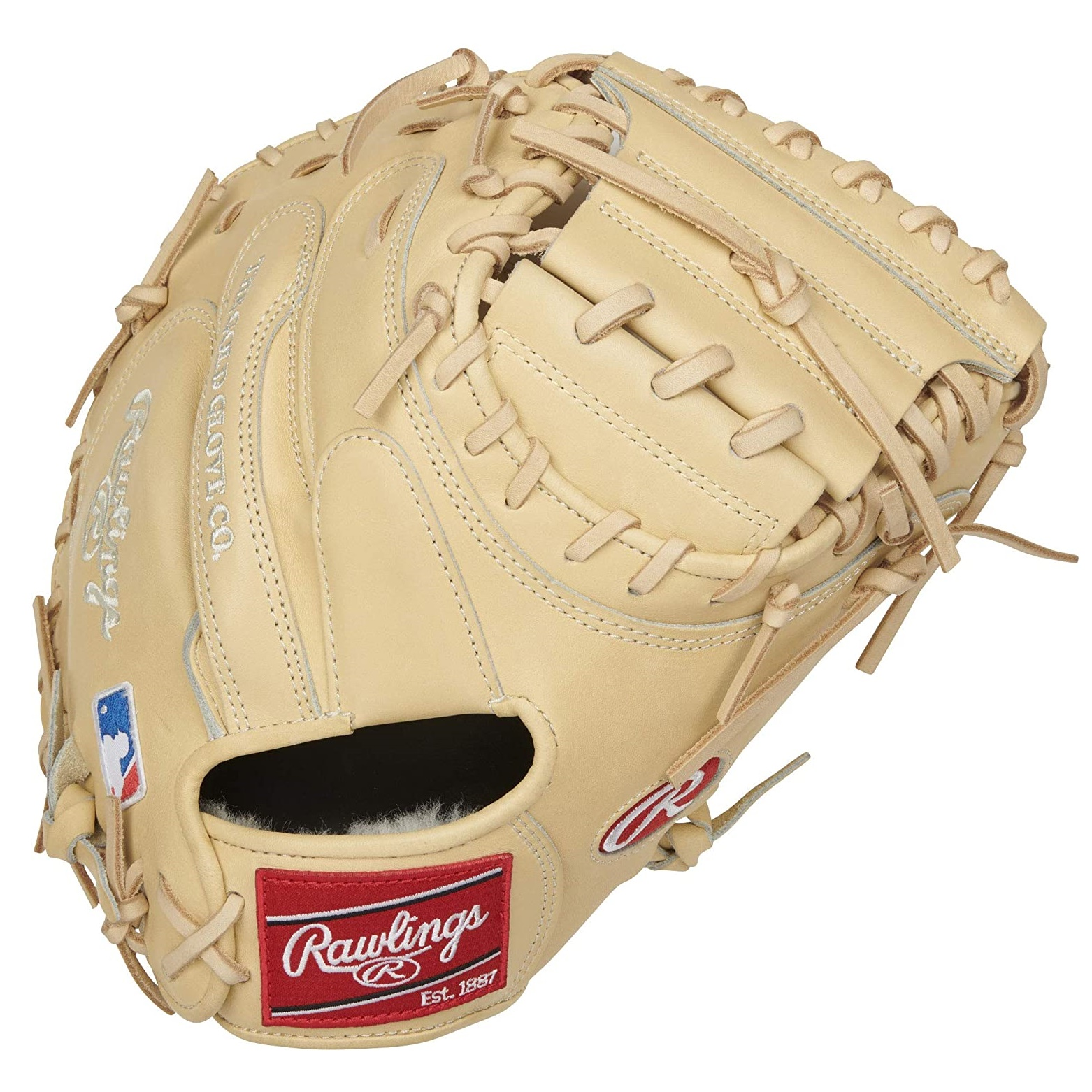 Become the next great behind the plate with the 2021 Pro Preferred 34-inch catcher's mitt. It's crafted from our flawless, full-grain kip leather, known for its unparalleled pro level quality and feel. This glove's CM43 pattern also offers a narrow, deep pocket for optimal control when you frame pitches too. In addition, all our Pro Preferred mitts feature world-class comfort thanks to our Pittards sheepskin palm lining. This luxurious liner gives you superior feel, and wicks away moisture so your hand stays dry. Its wool wrist strap and padded thumb sleeve also offer added comfort every time you put it on, and the wool padding allows you to break-in and form your perfect pocket. As a result, you get a premium quality mitt to help you dominate every pitch behind the plate. This clean, camel Pro Preferred catcher's mitt is designed for elite catchers looking for a glove that can perform to their abilities. See why more pros choose Rawlings than any other brand, buy now!  Color:   Camel  Throwing Hand:   Right  Sport:   Baseball  Back:   Conventional  Player Break-In:   70  Fit:   Standard  Level:   Adult  Lining:   Pittards Sheep Skin  Padding:   100% Wool Blend  Series:   Pro Preferred  Shell:   Kip Leather  Web:   1-Piece Solid  Size:   34 in  Pattern:   CM43  Age Group:   Pro/College, High School, 14U