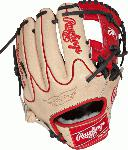 "Pro Preferred. MSRP $527.80. Kip Leather. 100% Wool Padding. 100% Wool BOA. Sheepskin padded thumb loops. New Deertouch finger back lining. Pittards palm lining. TT Lacing. Rolled leather welting. New Stamping. Pro player game day. This Pro Preferred 11 3/4"" model features the PRO I Web pattern, which is a single post reinforced bottom web that allows for a smaller, lighter web pattern, desired by infielders. This is primarily an infielders glove, especially for those on the Left side and works best at the 3rd base position. Utilizing the best patterns from the best pro players, Pro Preferred™ gloves feature impeccable kip skin leather that breaks in to specific playing preferences, forming the perfect pocket. The high-performance sheepskin lining wicks moisture away, keeping the hand dry for better control when players need it most. Details Age: Adult Brand: Rawlings Map: Yes Sport: Baseball Type: Baseball Size: 11.75 in Color: Camel Hand: Right"