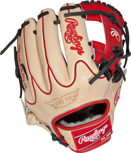 rawlings-pro-preferred-pros205-2bcwt-salesman-sample-baseball-glove-11-75-right-hand-throw PROS205-2BCWT-NOTAGS-RightHandThrow Rawlings  Pro Preferred. MSRP $527.80. Kip Leather. 100% Wool Padding. 100% Wool