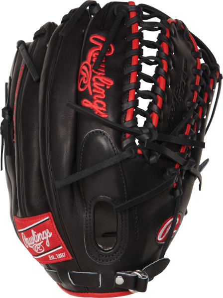 rawlings-pro-preferred-prosmt27-baseball-glove-12-75-right-hand-throw PROSMT27-RightHandThrow Rawlings 083321522420 Mike Trout Pro Preferred Gameday Pattern. 12.75 inch outfield glove. Trap-eze
