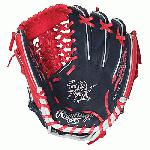 Rawlings PRO204NSLE Bryce Harper 11.5 inch Baseball Glove (Right Hand Throw) : This Heart of the Hide 11 12 baseball glove from Rawlings features a conventional back and the Modified Trap-Eze Web pattern, which is an extremely strong web that provides ball snagging functionality. This popular model is primarily used at the shortstoppitcher position at the Pro Level. It can also be used at 2nd and 3rd base positions at the collegehigh school level. Handcrafted from the top 5% of steer hides and the best pro grade lace, Heart of the Hide glove durability remains unmatched.