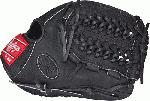 Rawlings PRO205DC 15B RH HOH Dual Core Baseball Glove Black Right Hand Throw