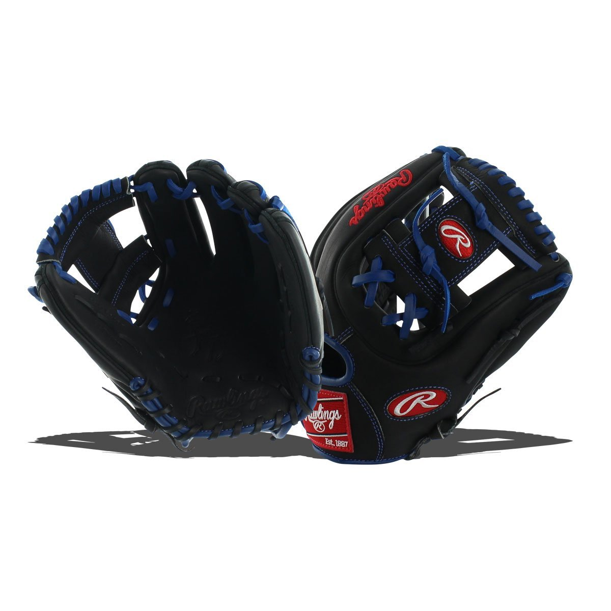 rawlings-pro314dc-2br-hoh-dual-core-baseball-glove-black-11-right-hand-throw PRO314DC-2BR-RightHandThrow Rawlings 083321179204 Heart of the Hide174 Dual Core fielders gloves are designed with