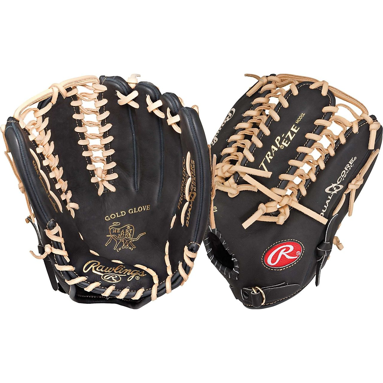 rawlings-pro601dcc-heart-of-the-hide-12-75-inch-dual-core-baseball-glove-left-hand-throw PRO601DCC-Left Hand Throw Rawlings New Rawlings PRO601DCC Heart of the Hide 12.75 inch Dual Core Baseball