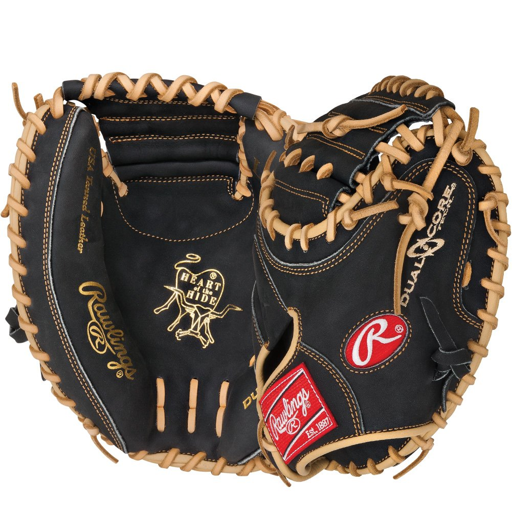 rawlings-procm33dcb-heart-of-the-hide-33-inch-dual-core-catchers-mitt-right-handed-throw PROCM33DCB-Right Handed Throw Rawlings New Rawlings PROCM33DCB Heart of the Hide 33 inch Dual Core Catchers