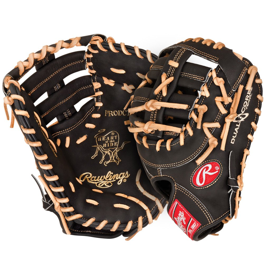 rawlings-prodctdcb-heart-of-the-hide-13-inch-dual-core-first-base-mitt-left-handed-throw PRODCTDCB-Left Handed Throw Rawlings New Rawlings PRODCTDCB Heart of the Hide 13 inch Dual Core First