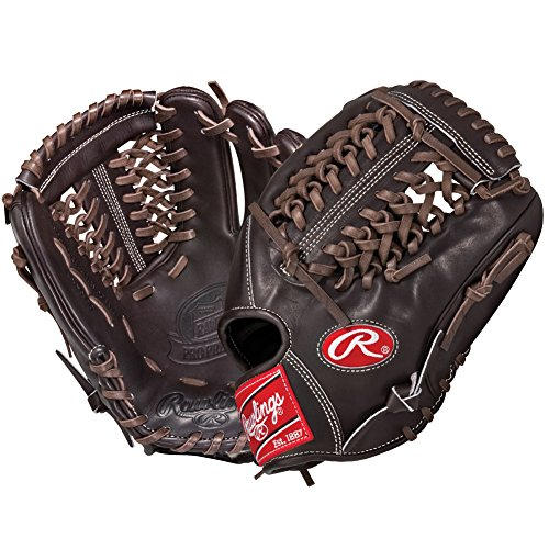 This Pro Preferred baseball glove from Rawlings features a conventional back and the Modified Trap-Eze Web pattern, which is an extremely strong web that provides ball snagging functionality. This popular 11 34 model is primarily used at the pitcher and 3rd base positions. The Pro Preferred line is made with supple Kip leather that provides a smooth look and feel. The Pittards performance sheepskin lining wicks away moisture and sweat to keep your hand dry and allows the glove to last several seasons.