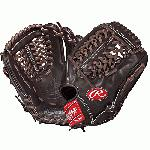 Rawlings PROS1175-4MO Pro Preferred Mocha 11.75 inch Baseball Glove (Right Handed Throw) : This Pro Preferred baseball glove from Rawlings features a conventional back and the Modified Trap-Eze Web pattern, which is an extremely strong web that provides ball snagging functionality. This popular 11 34 model is primarily used at the pitcher and 3rd base positions. The Pro Preferred line is made with supple Kip leather that provides a smooth look and feel. The Pittards performance sheepskin lining wicks away moisture and sweat to keep your hand dry and allows the glove to last several seasons.