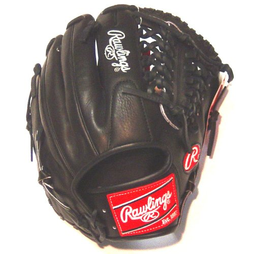 rawlings-pros15tcbb-11-1-2-inch-pro-preferred-baseball-glove PROS15TCBB Rawlings  Rawlings Black Pro Preferred Leather and Silver Stamping 11.5 inch Trapeze