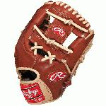 Rawlings PROS17ICBR Pro Preferred 11.75 Inch Baseball Glove : Rawlings Pro Perferred 11.75 inch I Web Baseball Glove. This Pro Preferred 11 34 inch baseball glove from Rawlings features the PRO I Web pattern, which is a single post reinforced bottom web that allows for a smaller, lighter web pattern, desired by infielders. This is primarily an infielders glove, especially for those on the left side and works best at the 3rd base position. The Pro Preferred line is made with supple Kip leather that provides a smooth look and feel. The Pittards performance sheepskin lining wicks away moisture and sweat to keep your hand dry and allows the glove to last several seasons.