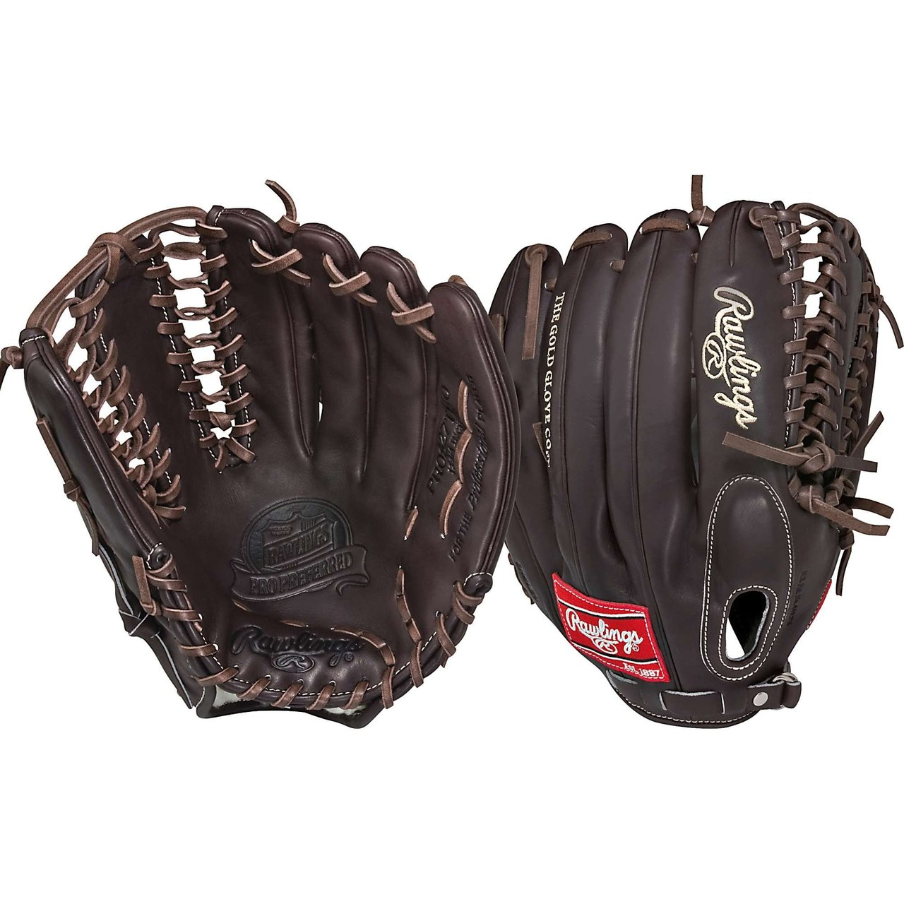 rawlings-pros27tmo-pro-preferred-mocha-12-75-inch-baseball-glove-right-handed-throw PROS27TMO-Right Handed Throw Rawlings New Rawlings PROS27TMO Pro Preferred Mocha 12.75 inch Baseball Glove Right Handed