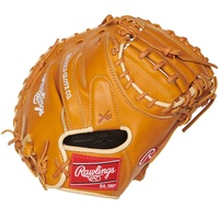 rawlings proscm43rt pro preferred rich tan catchers mitt 34 right hand throw