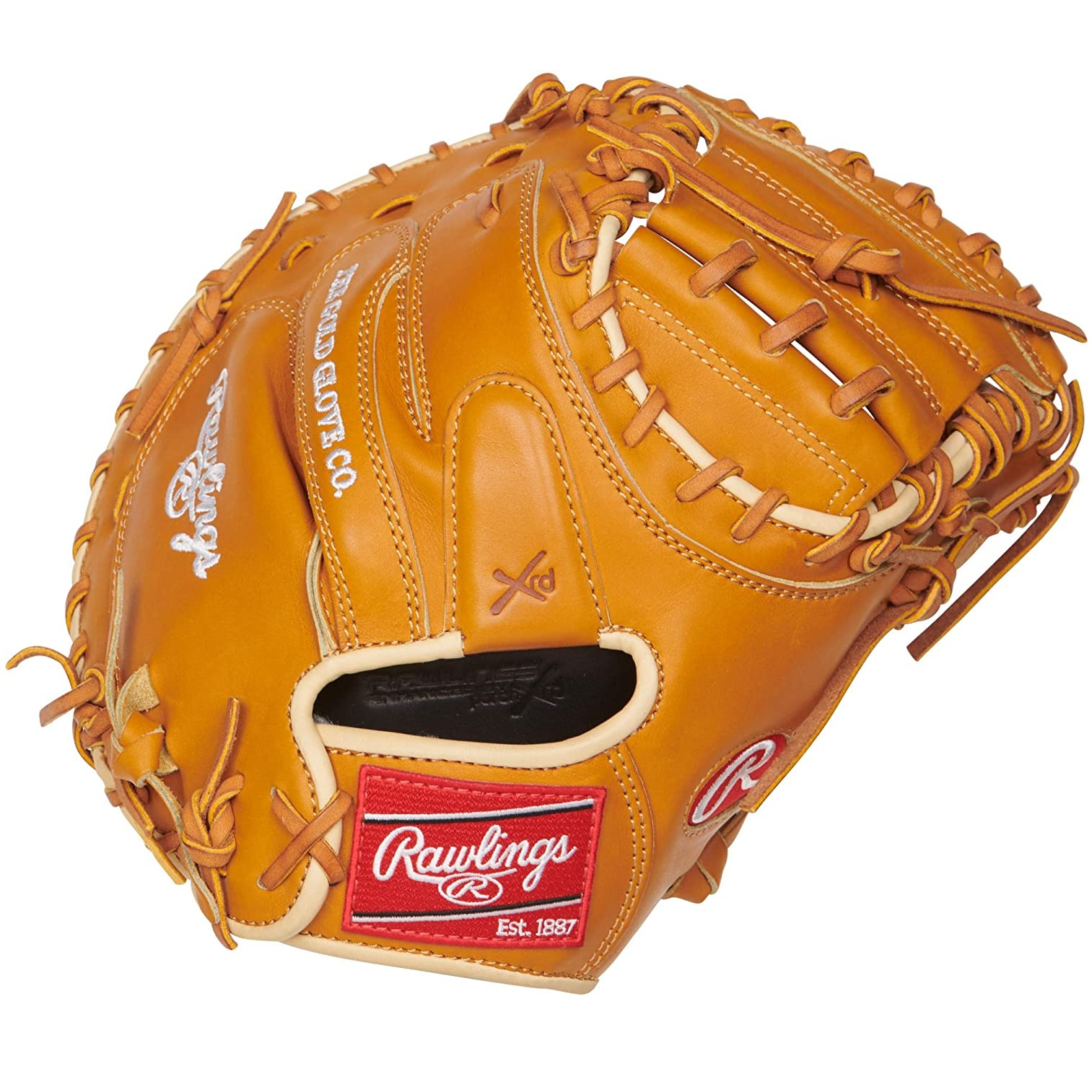 rawlings-proscm43rt-pro-preferred-rich-tan-catchers-mitt-34-right-hand-throw PROSCM43RT-RightHandThrow   Known for their clean supple kip leather Pro Preferred® series gloves