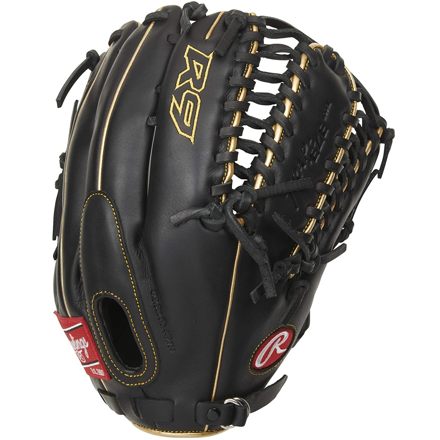 rawlings-r9-baseball-glove-12-75-inch-right-hand-throw R96019BGFS-RightHandThrow Rawlings  The 2021 R9 Series 12.75-Inch outfield glove was carefully constructed with