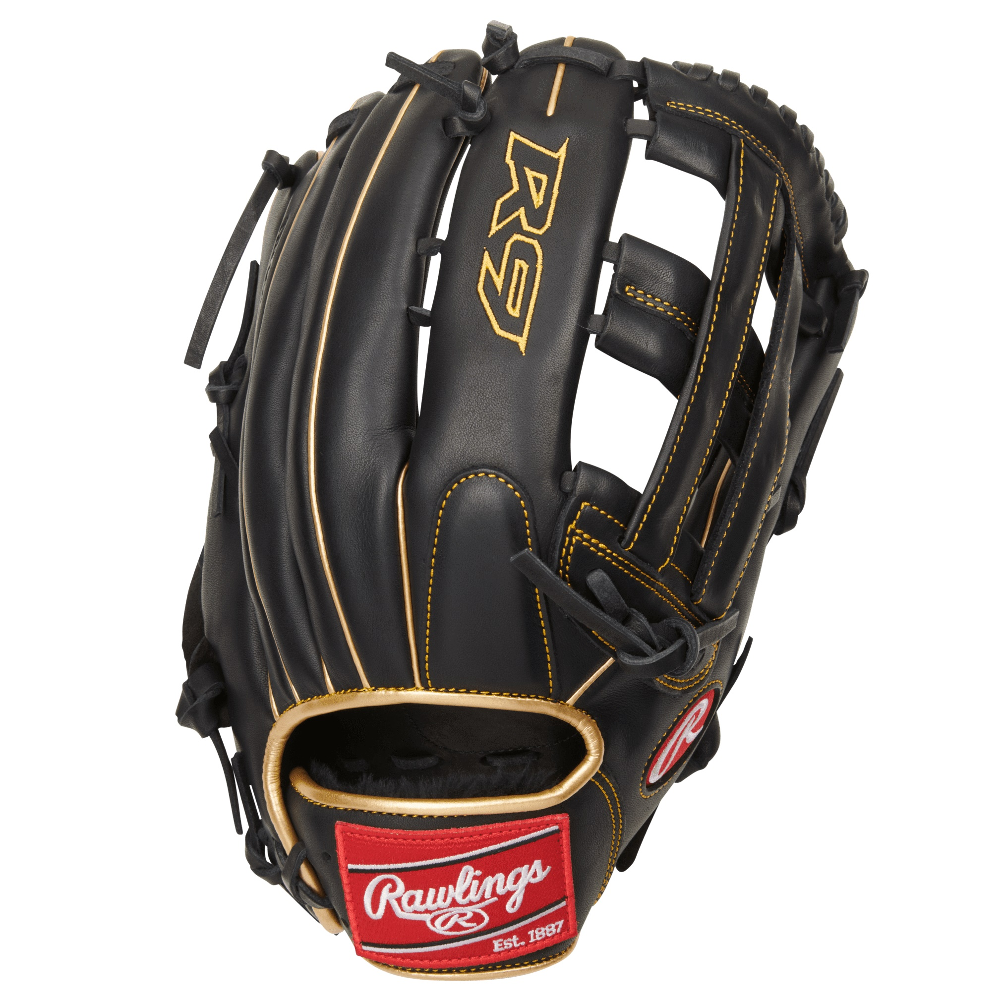 rawlings-r9-series-baseball-glove-pro-h-web-12-75-inch-right-hand-throw R93029-6BG-RightHandThrow   Take the field with confidence when you order the 2021 12.75-inch