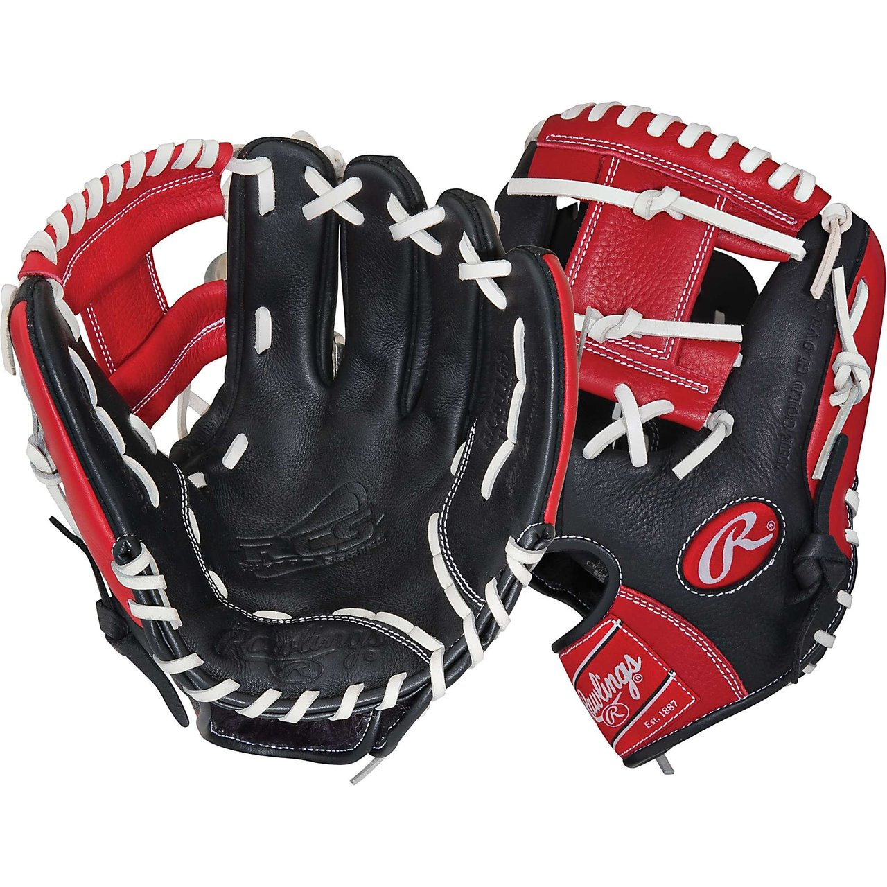 rawlings-rcs-series-11-5-inch-baseball-glove-rcs115s-right-hand-throw RCS115S-Right Hand Throw Rawlings New Rawlings RCS Series 11.5 inch Baseball Glove RCS115S Right Hand Throw