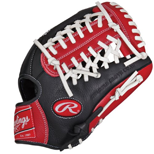 Rawlings RCS Series 11.75 inch Baseball Glove RCS175S (Right Hand Throw) : In a sport dominated by uniformity, the new Rawlings Custom Series is perfect for players looking to incorporate their personal style into their on field game. Featuring unique pro patterns and a variety of bold color options, RCS gloves are made of full grain leather steer hide with rawhide lacing, creating a durable comfortable and fashionable look with game ready feel and quick effortless break-in.