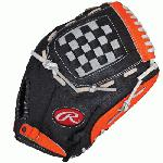 Rawlings RCS Series 12 inch Baseball Glove RCS120NO (Right Hand Throw) : In a sport dominated by uniformity, the new Rawlings Custom Series is perfect for players looking to incorporate their personal style into their on field game. Featuring unique pro patterns and a variety of bold color options, RCS gloves are made of full grain leather steer hide with rawhide lacing, creating a durable comfortable and fashionable look with game ready feel and quick effortless break-in.