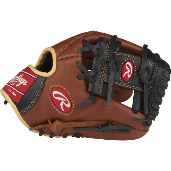 rawlings-sandlot-s1150i-baseball-glove-11-5-right-hand-throw S1150I-RightHandThrow  083321369308 Heritage™ Pro Series gloves combine pro patterns with moldable padding providing