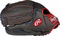 11-3/4-inch all-leather youth baseball glove styled after the one used by David Price Youth Pro Taper Fit pattern offers a smaller hand opening for greater control Vertical hinge web with all-leather lacing ideal for the infield or outfield Palm and index finger padding with cushioned fingerback lining Game ready; comes 90% broken-in from the factory.