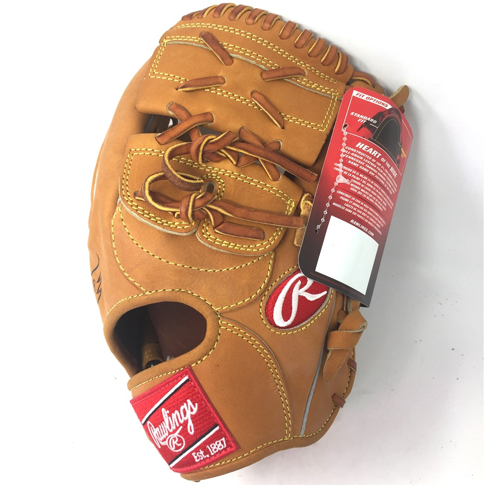 New Model Found Here Rawlings XPG6 Heart of the Hide Mickey Mantle 12 Inch Horween Baseball Glove : Rawlings Heart of Hide 12 2-Piece Web Wingtip (Stiff Horween Leather Not Oil Treated ) Extended Palm Baseball Glove Exclusive