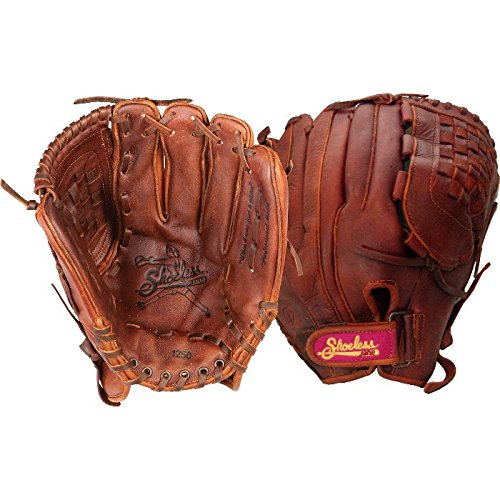 shoeless-jane-softball-glove-12-5-right-hand-throw 1250FPBWR-RightHandThrow Shoeless 854704003221 Field Ready Shoeless Joe Gloves require little or no break in
