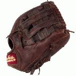 Shoeless Joe 11.5 H Web Baseball Glove (Right Handed Throw) : Shoeless Joe Gloves give a player the quality, feel and style of the gloves used by professional ball players over the last 100 years. You can choose glove models used in the first half of century in the Golden Age Series or today`s models in the Professional Model Series. The Shoeless Joe gloves are individually hand-cut and sewn from Special Aged Antique Tobacco Leather Hides. Shoeless Joe gloves are then hand-rubbed with old time ingredients to soften the leather before they go through their breaking in process that leaves the Glove with a beaten up and `Game Worn` look and feel, of a broken in glove. Thus each glove is unstructured giving it its own unique feature. Players can choose to play with an old time or modern day web without having to change to another model. A great play is lived only once, but your glove, you`ll keep it forever. If you end a game with a clean uniform our gloves are not for you. Shoeless Joe