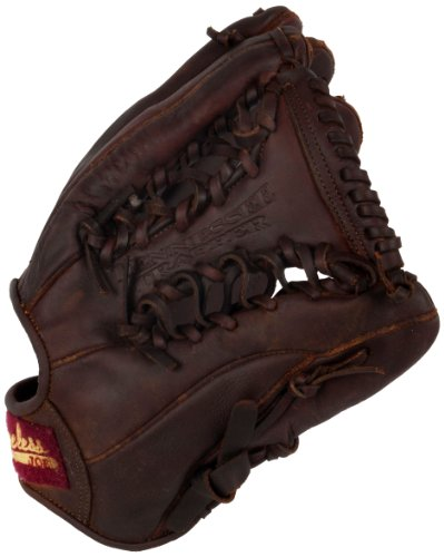 Shoeless Joe 11.75 Tenn Trapper Web Baseball Glove (Right Handed Throw) : Shoeless Joe Gloves give a player the quality, feel and style of the gloves used by professional ball players over the last 100 years. You can choose glove models used in the first half of century in the Golden Age Series or today`s models in the Professional Model Series. The Shoeless Joe gloves are individually hand-cut and sewn from Special Aged Antique Tobacco Leather Hides. Shoeless Joe gloves are then hand-rubbed with old time ingredients to soften the leather before they go through their breaking in process that leaves the Glove with a beaten up and `Game Worn` look and feel, of a broken in glove. Thus each glove is unstructured giving it its own unique feature. Players can choose to play with an old time or modern day web without having to change to another model. A great play is lived only once, but your glove, you`ll keep it forever. If you end a game with a clean uniform our gloves are not for you.