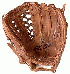 Shoeless Joe 1250MT Baseball Glove 12.5 inch (Right Hand Throw) : In a 12 12 inch fielders glove, Shoeless Joe has 4 web options for a ball player to choose from. A Modified Trap, Tennessee Trapper, Six Finger and Basket Weave Pocket. All 12.5 inch fielders gloves have a large pocket and web area to securely receive and hold a baseball that is run down and caught in the outfield. The 12 12 inch glove series like all Shoeless Joe gloves are made 100% Steer hide, Tobacco tanned leather, are hand laced and oiled and require very little break in time.