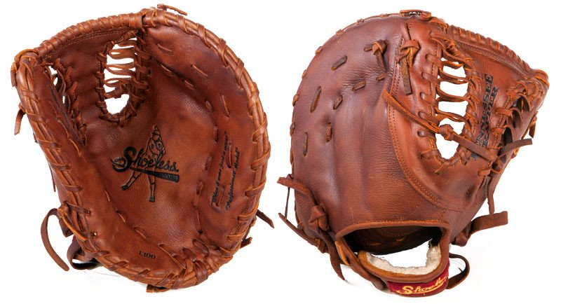 shoeless-joe-13-inch-tennessee-trapper-first-base-mitt-right-handed-throw 1300FBTTR-Right Handed Throw Shoeless 854704003825 Shoeless Joe 13 inch Tennessee Trapper First Base Mitt Right Handed