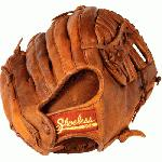 Shoeless Joe Outfield Baseball Glove 13 inch 1300SB (Right Hand Throw) : The 13 inch Shoeless Joe outfielders gloves come in 2 different Web styles, the Modified Trap and a Single Bar design. Shoeless Joes 13 inch fielders gloves give the ball player that extra reach and size of pocket to allow the player to make that extended catch, instead of not making the play. Like all Shoeless Joe Gloves, the 13 series are made with 100% Steer hide Tobacco tanned leather , are hand laced and oiled and require very little break in time.