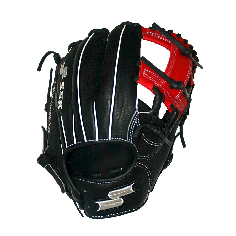ssk-edge-pro-series-11-5-baseball-glove-i-web-red-right-hand-throw S16150IR-RightHandThrow SSK 083351458676 <p>Preferred Position Infield Size 11.50 Web Classic I Web Premium Cowhide