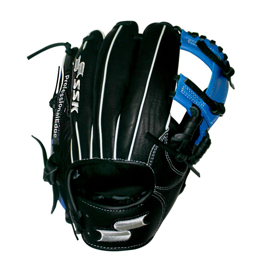 ssk-edge-pro-series-baseball-glove-11-5-blue-i-web-right-hand-throw S16150IB-RightHandThrow SSK 083351458737 <p>Preferred Position Infield Size 11.50 Web Classic I Web Premium Cowhide