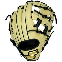 p11.50 Inch Baseball Glove Colorway: Brown | White Conventional Open Back Elite Infield Glove Japanese Tanned Steerhide Premium Leather./p