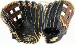 12.5 Inch Pattern, H Web, Top Grain Steerhide Leather, Top Grain Leather Lacing, Dimple Sensor Technology, Padded Shock Guard for extra palm protection, Fabric finger stalls for added comfort and with moisture-wicking properties, Shokunin Craftsmanship. The Highlight Pro Series features the patented Dimple Sensor Technology. Padded Shock Guard for extra palm protection. Made of top grain steerhide leather for durable, lightweight, soft, quick break-in. Fabric finger stalls for added comfort and with moisture-wicking properties to avoid slippage.