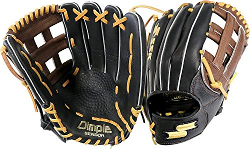 ssk-highlight-pro-series-s1799h-12-5-outfield-baseball-glove-h-web-right-hand-throw S1799H-RightHandThrow  083351460976 12.5 Inch Pattern H Web Top Grain Steerhide Leather Top Grain