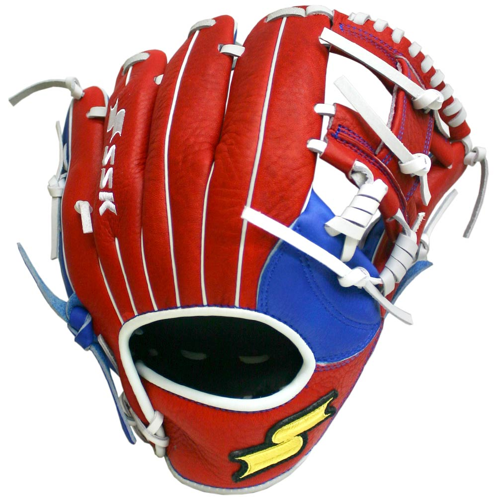 ssk-jb9-11-25-highlight-pro-baseball-glove-red-i-web-right-hand-throw S19JB9904R-RightHandThrow  083351452094 The SSK JB9 Highlight gloves are lightweight soft game-ready and feature