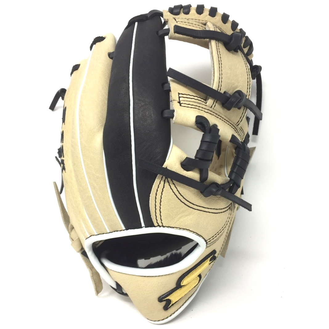 ssk-jb9-javier-baez-tan-black-youth-baseball-glove-11-5-right-hand-throw S19JB9901R-RightHandThrow SSK 083351452117 11.5 Inch Pattern model Modeled after Javier Baez's pro-level glove Top