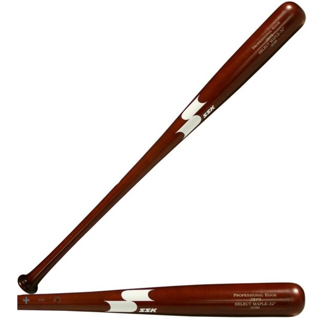 ssk-maple-wood-baseball-bat-jb9-mahogany-32-inch-javier-baez SM-JB9M32 SSK 083351450731 Wood Type – Professional Edge Maple MLB Cut. Ink Dot Tested