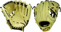 p11.50 Inch Baseball Glove Colorway: Camel | Black Conventional Open Back Dimple Sensor Technology Infield Glove For Young Players./p