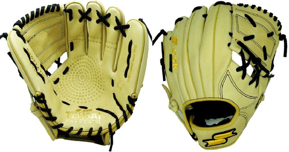 ssk-tensai-11-5-tatis-jr-baseball-glove-right-hand-throw S20TTATIS-RightHandThrow SSK 083351453237 <p>11.50 Inch Baseball Glove Colorway Camel | Black Conventional Open Back