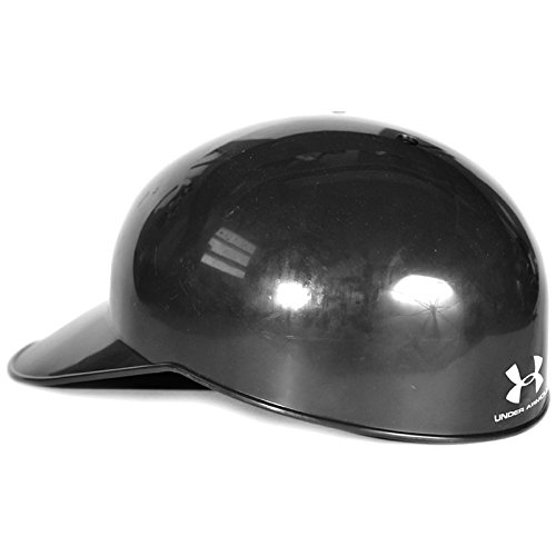 Under Armour Baseball Field Cap (Black, Medium) : Under Armour Professional style catchers fielders cap with an impact resistant ABS plastic shell. Soft moisture wicking dual density foam liner system absorbs impacts. Available in 4 sizes.