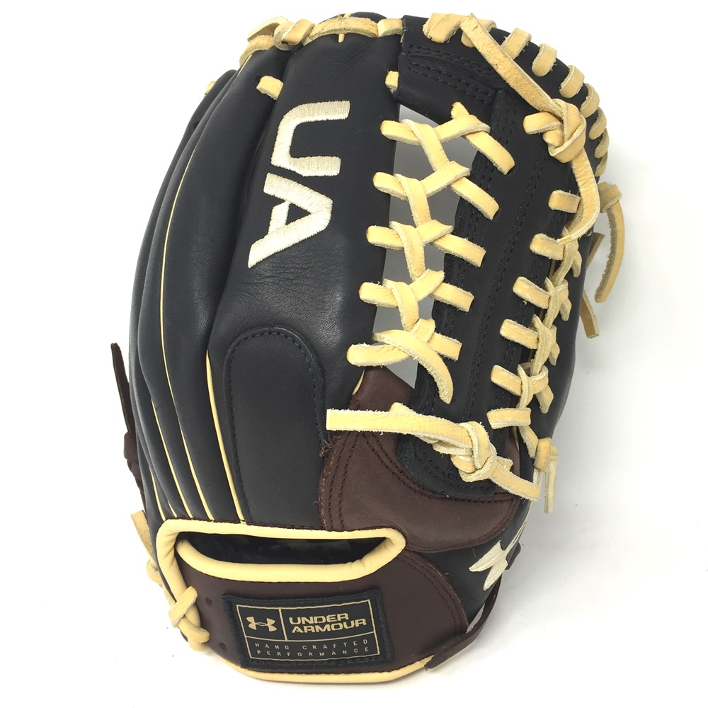 The choice series from Under Armour coffee black genuine soft leather. Intermediate to adults looking for a quality glove at a great price. Premium grade leather. Hand crafted performance.