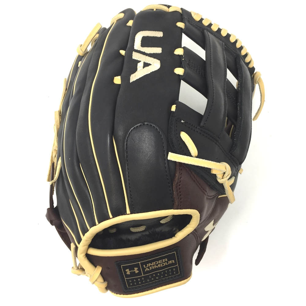 under-armour-choice-12-75-baseball-glove-h-web-right-hand-throw UAFGCH-1275H-RightHandThrow Under 029343053450 The choice series from Under Armour coffee black genuine soft leather.