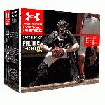 Under Armour Junior Age 9-12 PTH Victory Series Catchers Set (Scarlet) : Under Armour PTH Victory Series UACK2-JRVS Junior 9-12 Yr Catcher's Kit Kit includes the following items Under Armour PTH Victory Series UAHG2-YVS Youth Solid Molded Catching Mask Solid molded mask featuring a high impact resistant ABS plastic shell designed to deflect and absorb impacts. I-BAR VISION steel cage increases player's sight lines by using flattened bars which also increase the strength of the cage. Soft, breathable, moisture wicking dual density liner. Padding treated with the AEGIS Microbe Shield which kills unwanted bacteria and odors. Under Armour PTH Victory Series UACP2-JRVS YouthJunior Chest Protector. Under Armour PTH Victory Series UALG2-JRVS YouthJunior Leg Guards.