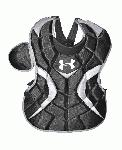 Under Armour Senior PTH Victory Series Age 12-16 Catchers Gear Set (Navy) : Kit includes the following items: Under Armour PTH Victory Series UAHG2-AVS Adult Solid Molded Catching Mask Solid molded mask featuring a high impact resistant ABS plastic shell designed to deflect and absorb impacts. I-BAR VISION steel cage increases player's sight lines by using flattened bars which also increase the strength of the cage. Soft, breathable, moisture wicking dual density liner. Padding treated with the AEGIS Microbe Shield which kills unwanted bacteria and odors. Moisture wicking padding high impact resistant ABS shell I-Bar Vision cage Adult size: 7 - 7 34 Meets NOCSAE Safety Standards UAHG2-AVS Under Armour PTH Victory Series UACP2-SRVS YouthSenior Chest Protector Youth PTH Victory Series chest protector Complete over the shoulder protection Fully adjustable shoulder cap Moldable plastic inserts in the throat, sternum, and shoulders to disperse impacts and help the chest protector to conform to the body Breathable backing, lightweight and comfortable our point adjustable adjustable harness for making a perfect fit 15.5 Inch Design recommended for ages 12-16 Machine Washable AEGIS Microbe Shield Under Armour PTH Victory Series UALG2-SRVS YouthSenior Leg Guards Youth PTH Victory Series leg guards Mobile double knee design High impact PE plastic components with extra thick plastic in high use locations Large vent holes in shin and knees for breathability Knee pad absorbs impacts Re-positionable and machine washable shin and knee pads 14.5 Inch Design Recommended for ages 12-16 AEGIS Microbe Shield.
