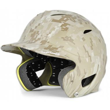 under-armour-youth-military-digicamo-batting-helmet-carbon UABH-110MC-TAN Under 029343031397 The UABH-110 batting helmets feature a One Size Fits All dual